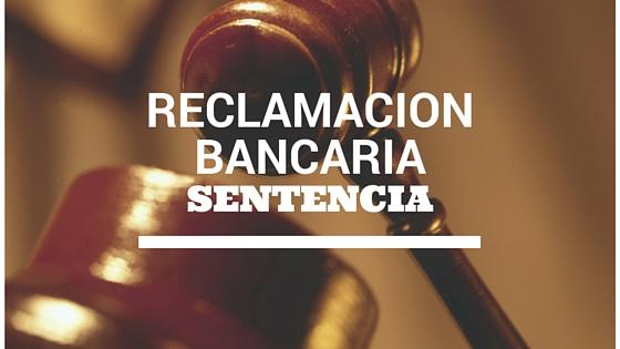 Un juez atribuye temeridad a un banco por negarse a anular la cláusula suelo de un préstamo