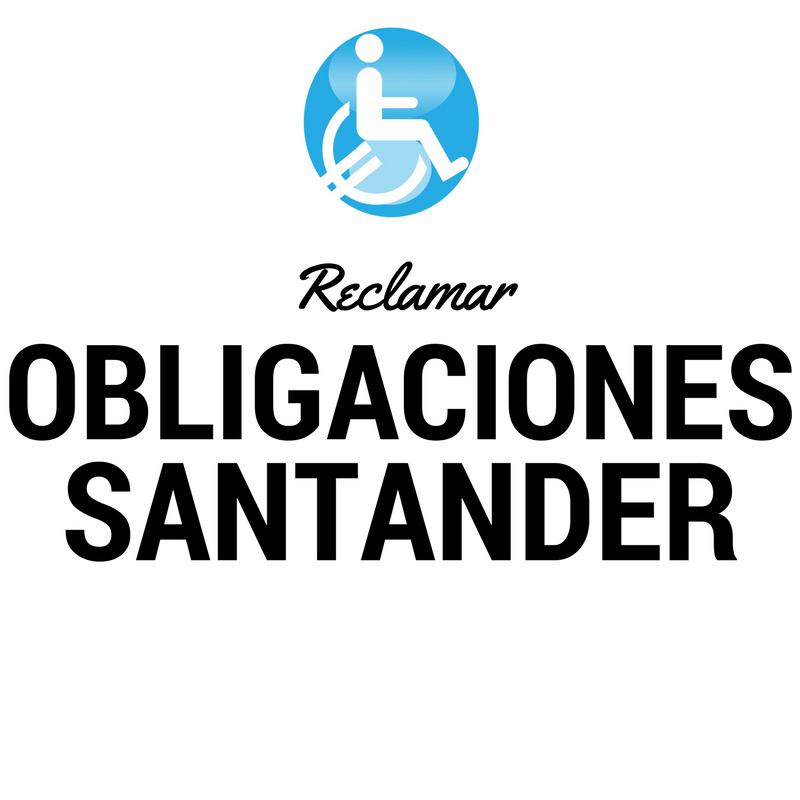 OBLIGACIONES SANTANDER
