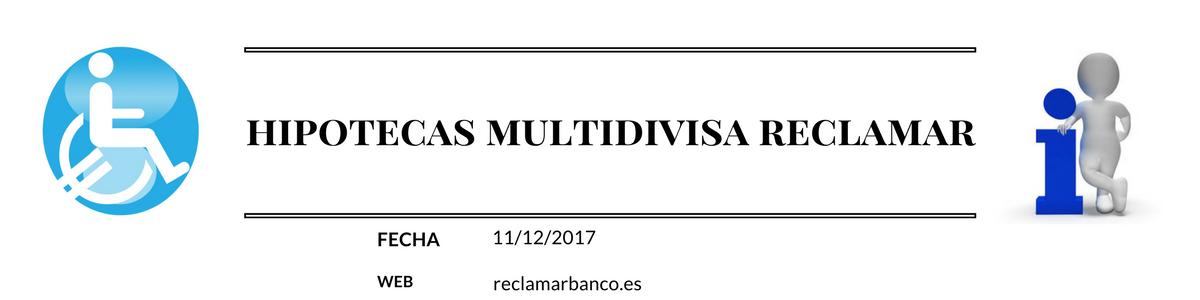 Hipotecas multidivisa e inseguridad jurídica