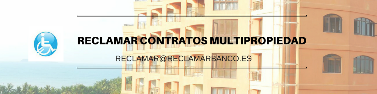 Reclamar Contratos Multipropiedad