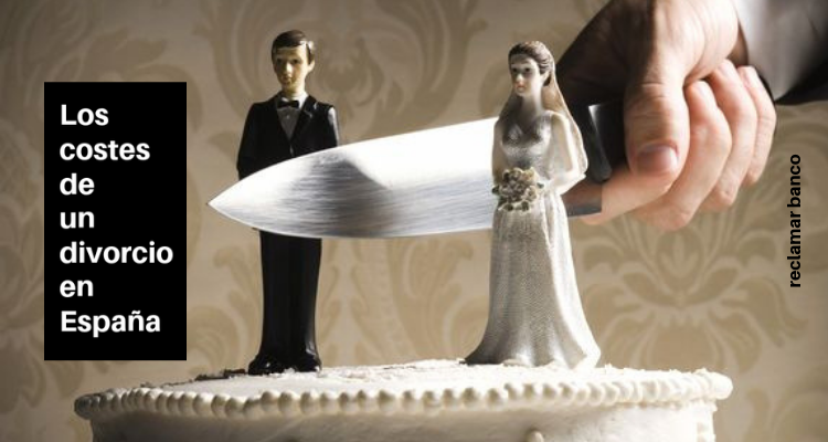 Los costes de un divorcio en España