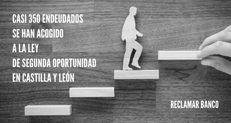 Casi 350 endeudados se han acogido a la Ley de Segunda Oportunidad en Castilla y León