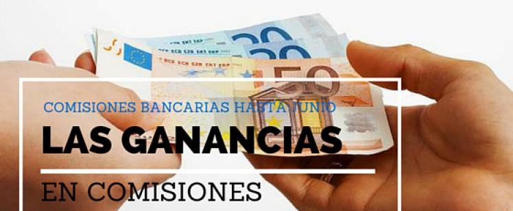 Los bancos ingresan 4.600 millones en comisiones hasta junio